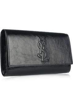 YSL  Belle du Jour black clutch