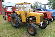 Old Tractors, Volvo, Farming, Vehicles, Leaflets, Tractors, Antique Cars, Rolling Stock, Vehicle