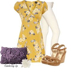 """""""Flowers"""" by kimberly-lp on Polyvore"""