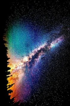beauty light life Cool beautiful sky wonderful trees night galaxy stars crazy dark wow nature colour forest mind amazing universe wonder color milky way science Whoa knowledge cosmic contrast Cycle evololution Cosmos, To Infinity And Beyond, Deep Space, Galaxy Wallpaper, Milky Way, Science And Nature, Night Skies, Pretty Pictures, Beautiful Images