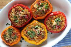 Une des meilleures recettes végétariennes de poivrons farcis