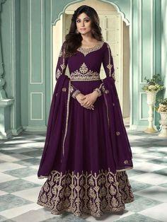 Top 5 Trendy Anarkali Suits Design for Any Occasion - Inddus.com Long Anarkali Gown, Anarkali Suits, Indian Anarkali, Punjabi Suits, Salwar Kameez, Kurti, Churidar, Designer Anarkali Dresses, Designer Sarees