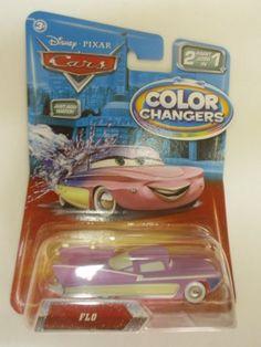 Disney / Pixar CARS Movie 155 Color Changers Flo Disney Pixar Cars Color Changers http://www.amazon.com/dp/B004690UZQ/ref=cm_sw_r_pi_dp_u80Swb16G1WZG