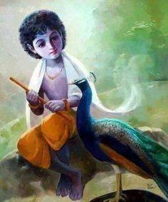 Cuteeeeee kanu ji k sunder darshan k sath.... Sumangal Prabhat.... Jay shree krushn