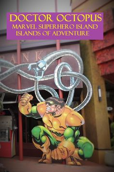 Marvel Superhero Island at Universal's Islands of Adventure park - Top Tips for Islands of Adventure park at Universal Orlando in Florida at http://www.buildabettermousetrip.com/islands-of-adventure-tips/
