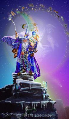 wizards fantasy Conducting the Cosmos ©Tom CrossConducting the Cosmos©