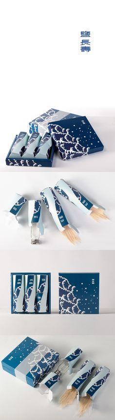 鹽長壽 金門海鹽包裝 Kinmen salt&noodle graphic design and packaging on Behance by Yiting Kao, Taipei, Taiwan. PD