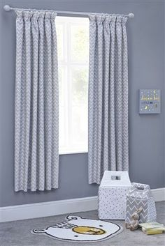Little One Blackout Pencil Pleat Curtains From The Next Uk Online