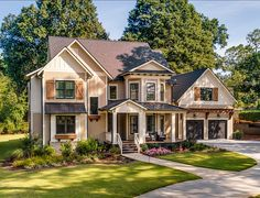 Like overall look of this house. Like the stacked bay windows.