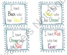 """""""I Have Who Has"""" Game from First Grade Facts on TeachersNotebook.com -  (10 pages)"""