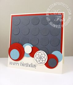 cute card w/ circles