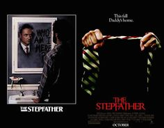 Most people hate the remakes of our beloved horror movies. Yes, most of them are crap, but at least some of the posters for the movies are an improvement. Horror Movie Posters, Movie Poster Art, The Stepfather, Scary Films, Classic Horror Movies, Horror Art, I Movie, Thriller, The Originals