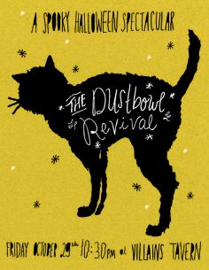 The Dustbowl Revival Halloween Poster