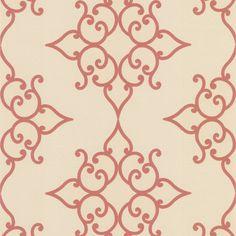 Decadence Crèpe Moroccan Medallion Wallpaper - Contemporary - Wallpaper - Brewster Home Fashions