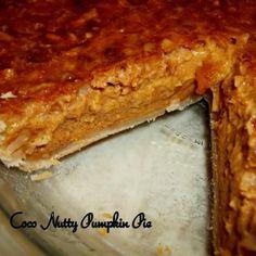 ~ Coco Nutty Pumpkin Pie ~
