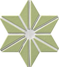 Academy Tiles - Ceramic Mosaic - Star - 77696