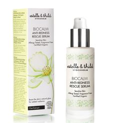 Anti-Redness Rescue Serum - Estelle & Thild BioCalm Anti-Redness Rescue Serum restores harmony to sensitive skin. This light formula is enriched with Black Elderflower, Apricot and Oat Extract offering maximum hydration and boosting the skin's natural glow for added radiance.