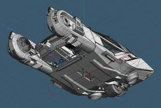blade-runner 2049 peugeot police spinner 3d model obj fbx lwo lw lws stl mtl 13