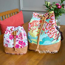821 Natalie Bucket Bag & Pouch Combo - 10% Off!