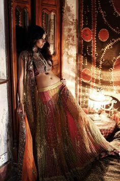 Luscious lehenga You are in the right place about Saree Styles grey Here we offer you the most beautiful pictures about the Saree Styles galleries you are looking for. When you examine the Luscious lehenga Gypsy Style, Bohemian Style, Boho Gypsy, Hippie Bohemian, Indian Dresses, Indian Outfits, Lehenga, Asian Fashion, Boho Fashion