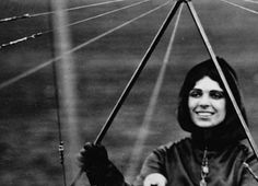 Harriet Quimby in her Blériot XI monoplane, 1912