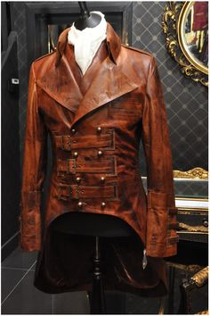 Leather coat. I love this so much