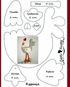 Quelques poules pour Pâques - Le blog de CESCLO2 patchwork et tissus