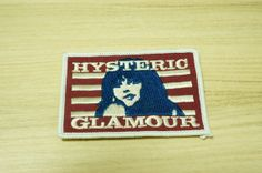 Hey, I found this really awesome Etsy listing at https://www.etsy.com/listing/129530850/hysteric-glamour-embroidered-patches