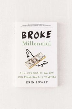 Shop Broke Millennial By Erin Lowry at Urban Outfitters today. We carry all the latest styles, colors and brands for you to choose from right here. Book Nerd, Book Club Books, Good Books, Book Clubs, Reading Lists, Book Lists, Retro Humor, Life Changing Books, Book Aesthetic