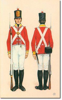 THE CAMERONIANS (Scottish Rifles) SOLDADO - 1806. Más en www.elgrancapitan.org/foro