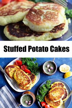 These stuffed potato patties are the perfect weeknight dinner. Creamy mashed potatoes are stuffed with a tasty beef filling and seared to perfection. Iranian Cuisine, Iranian Food, Mashed Potato Cakes, Mashed Potatoes, Stuffed Potatoes, Cheesy Potatoes, Fried Potato Patty, Beef Recipes, Cooking Recipes