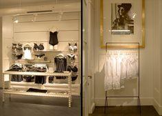Minimal lingerie shop