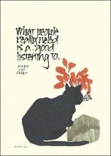 Listening, to value the thoughts of others.