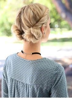Would you wear a double bun hairstyle this spring? Hairstyles For School, Everyday Hairstyles, Summer Hairstyles, Trendy Hairstyles, Braided Hairstyles, Braided Updo, Modern Haircuts, Celebrity Hairstyles, Baddie Hairstyles