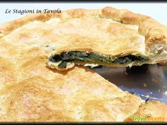 Torta rustica ripiena di verdura (Ricetta velocissima con la sfoglia pronta)  #ricette #food #recipes