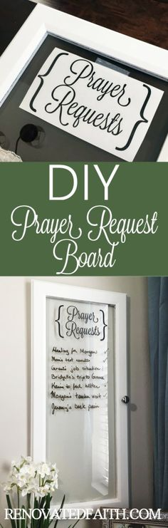 DIY Prayer Request B