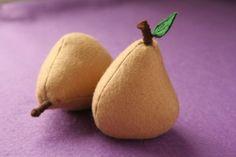 Felt Pear