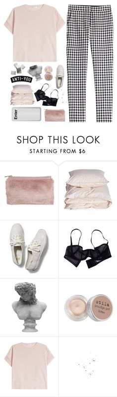 """""""maybe someday you'll be somewhere"""" by adventures-at-neverland ❤ liked on Polyvore featuring Miss Selfridge, Aiayu, Keds, Eres, Visionnaire, Stila, Brunello Cucinelli and Diane Von Furstenberg"""