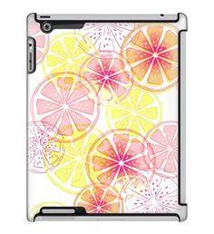 Uncommon LLC Sara Berrenson Lemon Slices Deflector Hard Case for iPad 2/3/4 (C0050-TJ)