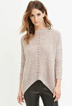 Contemporary Marled Knit Sweater | LOVE21 | #f21contemporary