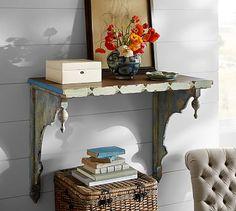 Harper Deep Wood Shelf #potterybarn