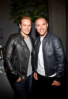 Comic-Con 2015, Day 2: Celebs make the rounds | Sam Heughan and rapper Ed Skrein | EW.com