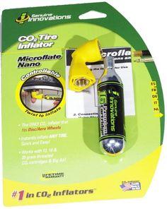 Genuine Innovations Nano Microflate Inflator (Yellow)