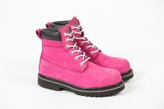 For Mum She Can | Safety Work Boots for Women | Pink | The Block Shop - Channel 9 139.00
