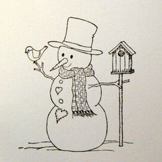 Cards and Creations: Luke Tutorial - Fargelegge snømann Colouring Pics, Adult Coloring Pages, Christmas Art, Christmas Projects, Christmas Sayings, Christmas Ideas, Marker, Santa Claus Drawing, Polar Bear Paw