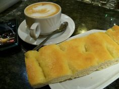 Never tried cappuccino and focaccia for breakfast?  #CaduFerra #Bonassola #ItalianRiviera #Liguria www.caduferra.it