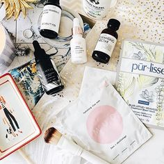 A lovely line up 😘 Hydrating Mask, Beauty Products, Mint, Photo And Video, Face, Instagram, Cosmetics, Faces, Facial