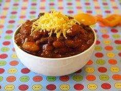 Four Bean Chili on Weelicious