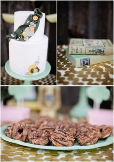 Really clever cake idea for the girl scout in your life.