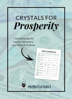 7 Crystals for Prosperity — Mumbles & Things